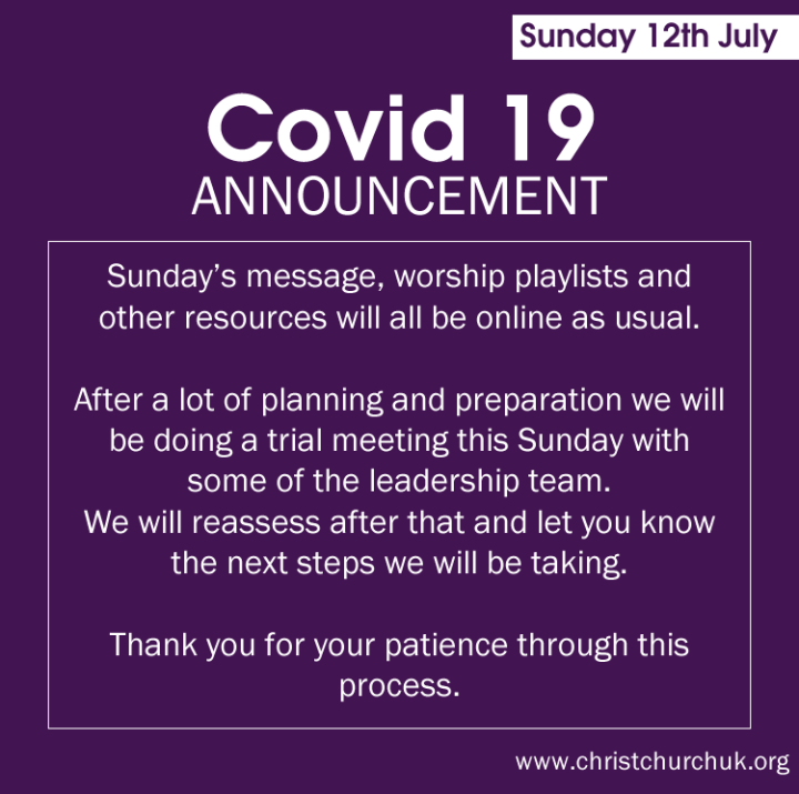 9th July 2020 Covid-19 Update
