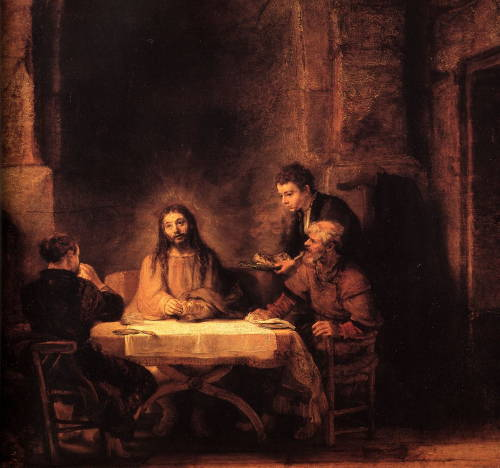 Rembrandt, Supper at Emmaus (1648)