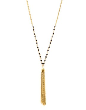 Alexandrie : Long necklace chains gilded with fine gold