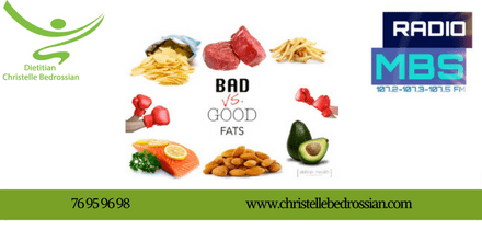 best dietitian lebanon, lebanon, diet, diet clinic, lose weight lebanon, health, radio, good and bad fat