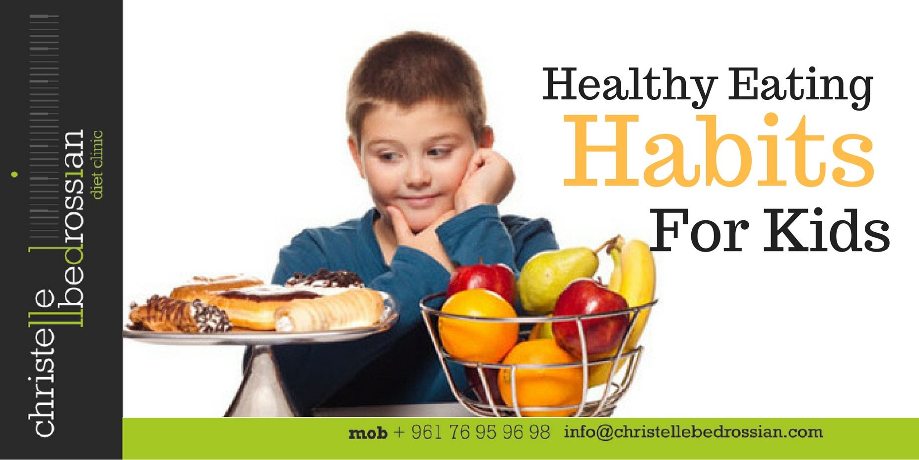 Interview Radio Liban Healthy Eating Habits For Kids