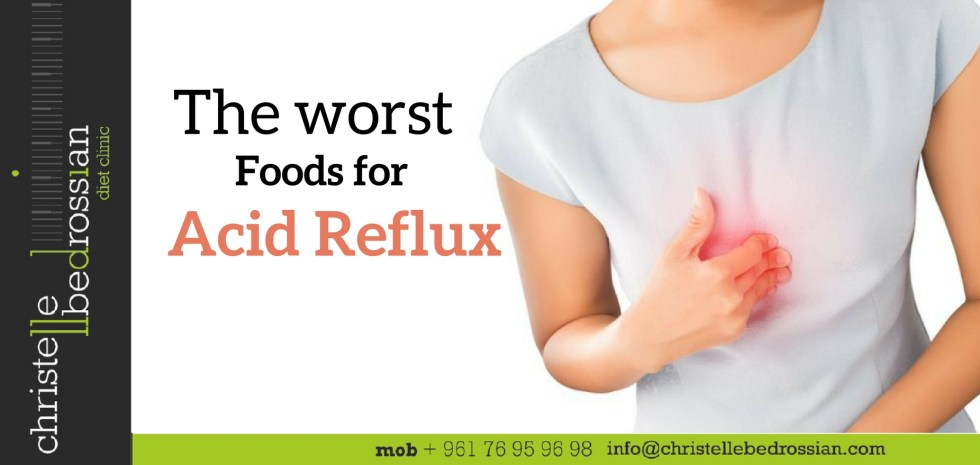 best dietitian lebanon, lebanon, diet, weight loss, reflux , foods to avoid
