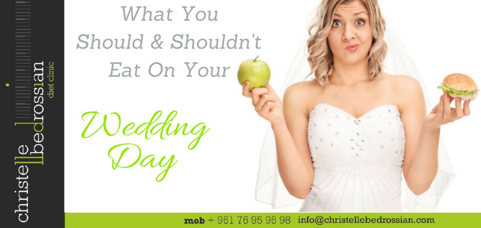 best dietitian lebanon, lebanon, diet, weight loss, eating, wedding day, snack
