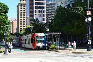 """TRAX downtown Salt Lake"""