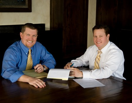 Utah Personal Injury Lawyers Russ Hymas and Ken Christensen