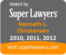 Super Lawyers Badge - Ken Christensen