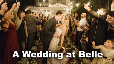 Wedding at Belle
