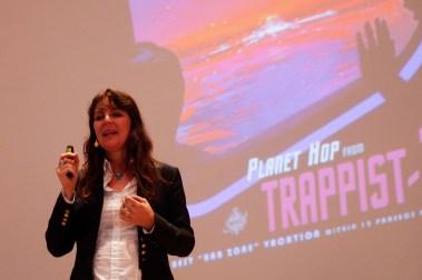 Eröffnung Christian-Doppler-Symposium, Vortrag Lisa Kaltenegger, Foto: Salzburg Research