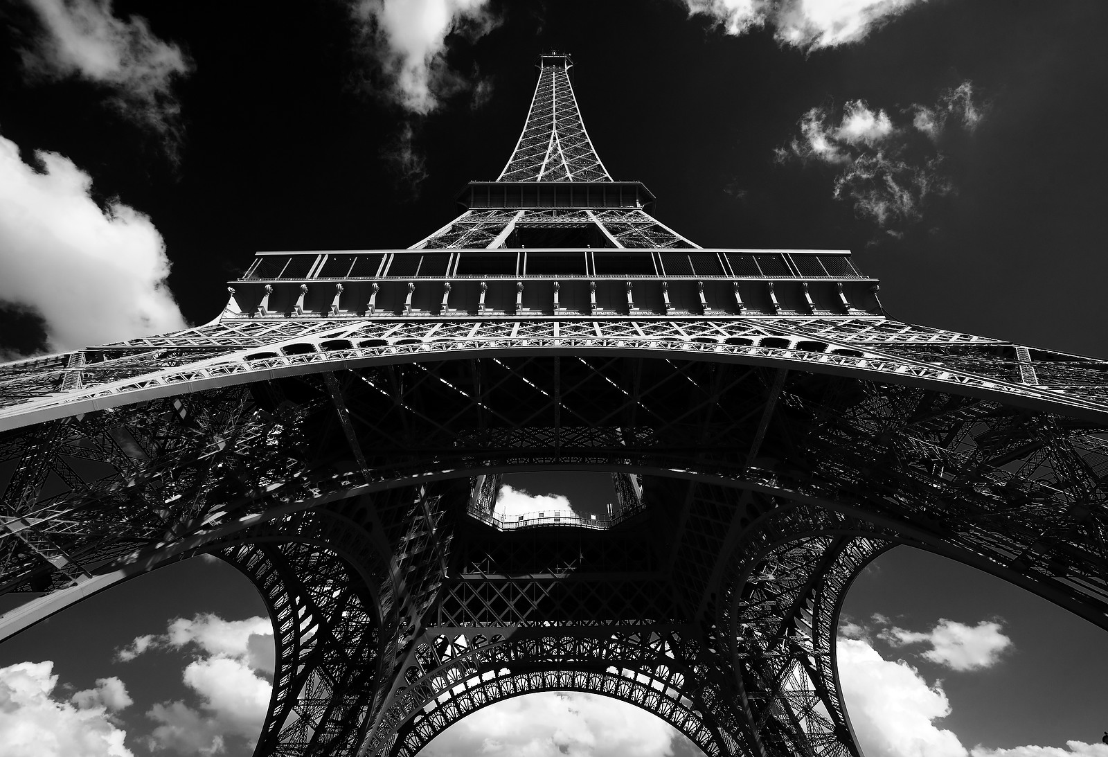 Paris in B&W