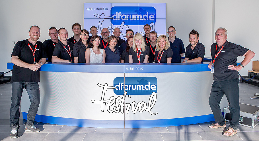 Team dforum-Festival 2015