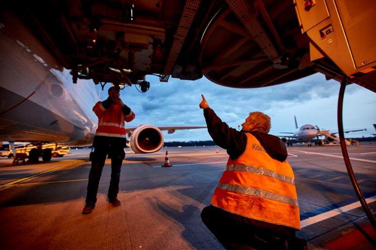 Industriefotograf auf dem Köln/Bonner Flughafen