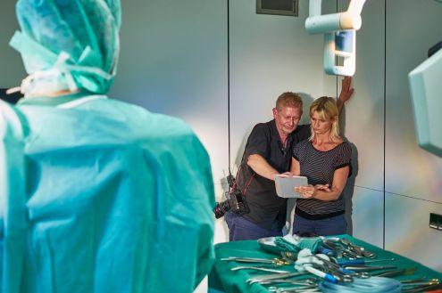 Fotograf Christian Ahrens in der Medizin