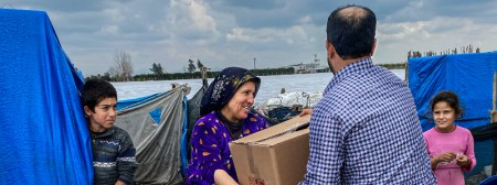 Surviving Coronavirus is Especially Challenging For Refugees in the Middle East