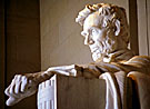 Statue of Abraham Lincoln, Lincoln Memorial, Washington, D.C. Photo courtesy of Wallbuilders.