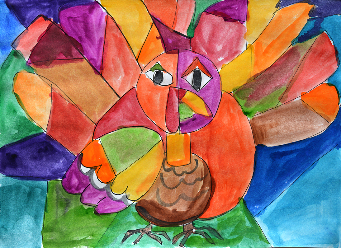 Picasso S Thanksgiving Turkey