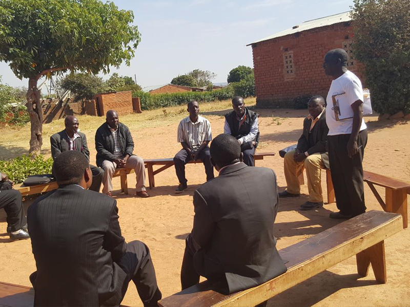 Leadership Training in Malawi