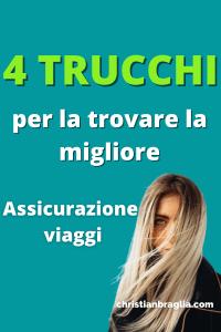 assicurazione viaggi italia