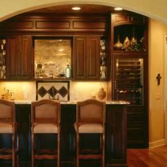 Kitchen Cabinets.com Light Oak Cabinets Custom Bar | Wine Cellars Basement Bars Mn