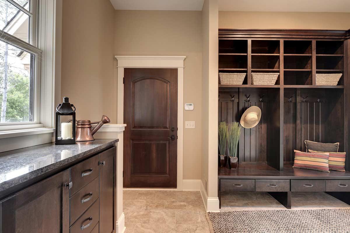 apple valley kitchen cabinets black undermount sink custom laundry room mn | mudroom built ins