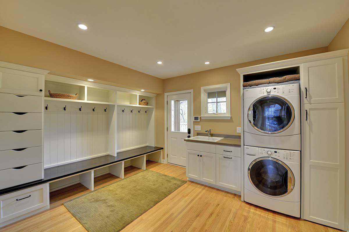Custom Laundry Room Cabinets Mn