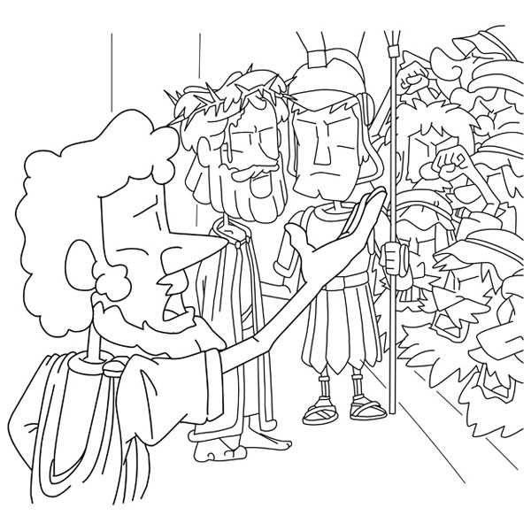 Matthew 28 19 20 Coloring Page Coloring Pages