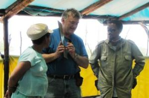 Pastor Bill January 2013 in Africa