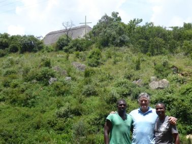 L-R: Willie K. Banda – Gweru, Crosses, Pastor Bill, Sharky Masuca – Bulawayo, Crosses