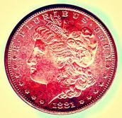 Red Silver Dollar