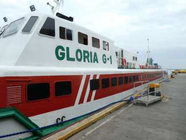 We traveld 4 hours on a massive ferry designed to carry hundreds of people from the Luzon mainland to the island of Cebu. One of 7,000 Philippine islands