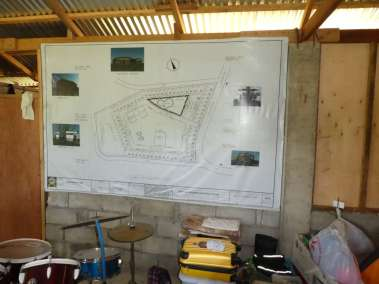 Architecture drawing of Camp JHM under construction