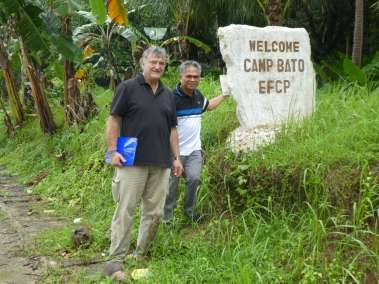 Pastor Prisco and Pastor Bill welcome you to Camp Bato