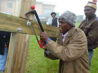 Adjusting bolt length in the rain