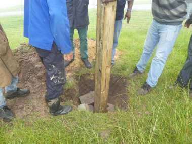 Stabilizing the Cross in the rain
