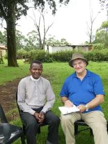Pastor Bill interviewing Reverend C P