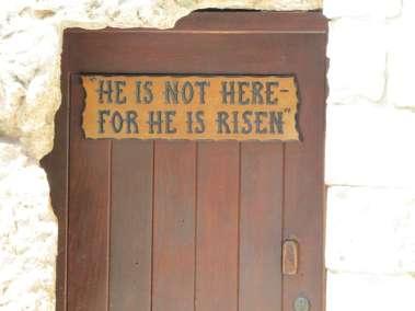 Door of the Garden Tomb