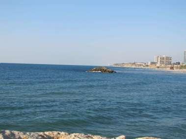 Mediterranean Sea from near Tel Aviv