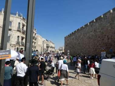 Old City of Jerusalem at the Jaffa Gate