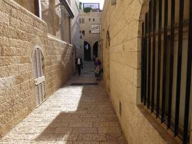 Old Jerusalem City streets