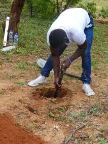 Preparing Hole