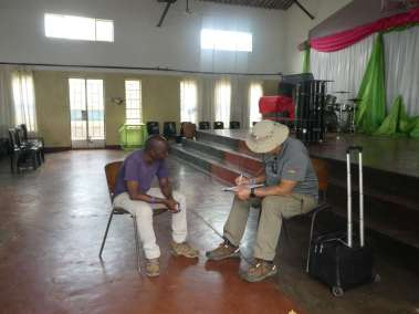 Cross Interview with Pastor Moyo
