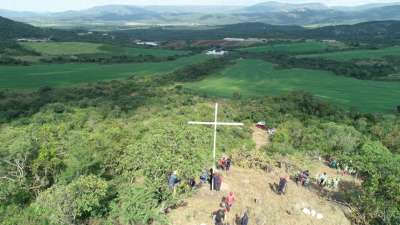 Cross Overlooking 2,500 Acre Hope For Africa