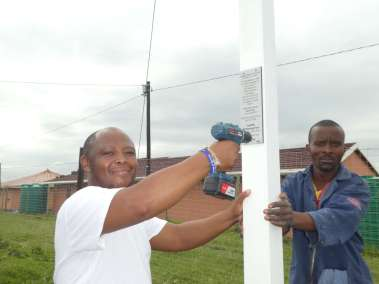 Pastor Noti Attaching Plaque