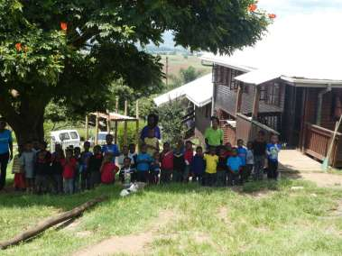 New Hope Adopted Children Watch In Awe