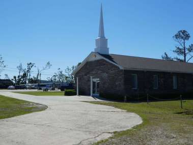 Cedar Grove Baptist Church After Hurricane Michael