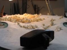 Decke aushöhlen/ hollowing
