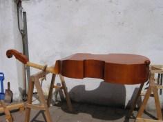 Beim Lackieren/ varnishing process