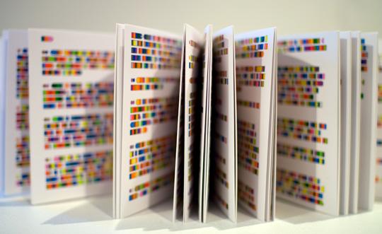 "Rediseño de ""Remarks on Color"" por Ludwig Wittgenstein"