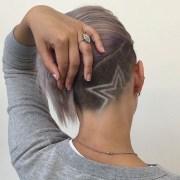 hair tattoos shaved design