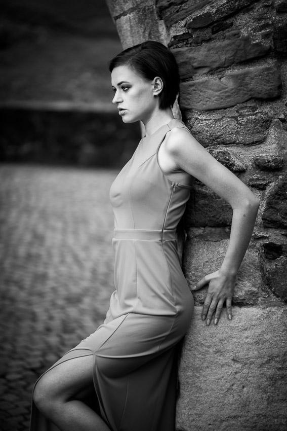 Fotoshooting mit Camilla Schenkel, Vize-Miss Hessen