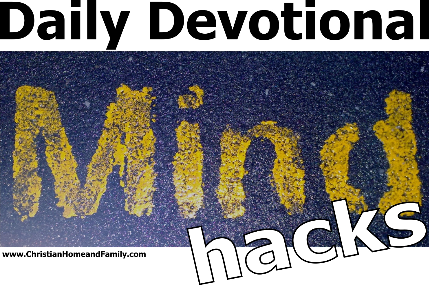 daily devotional mind hacks